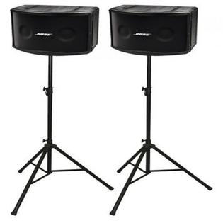 Pair Bose 802 and stands
