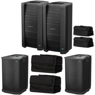 Full Bose F1 System, 2 Bose F1 Model 812, 2 Bose F1 Subwoofers & Bose Travel Bags